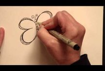 Видео уроки zentangle