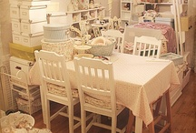Shabby Chic Craft room Inspiration