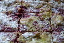 Recepty - rebarborové koláče