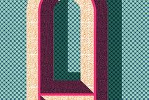 포스터-타이포 알파벳
