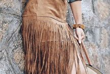 fringe skirt outfit