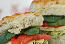 Sandwiches / A collection of recipes and ideas for making delicious sandwiches and wraps.  Great Ideas for lunch!