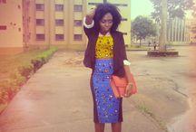 African dress / Nigerian dress style