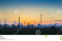 промышленные ландшафты