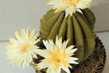 A - Quilling - Cactus et mini fleurs