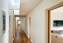 New build Warwickshire, multipane skylight