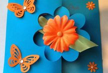 Flower Flip-its / Cards by Diannes Craft Room - https://www.facebook.com/pages/Diannes-Craft-Room/716254135118692