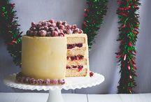 Kahvipöydän komeudet / The Crowns of coffee table / Täytekakkuja, tähtitorttuja ja ihania luomuksia kahvipöytään.