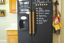 Chalk board Paint Ideas