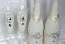 Оформление шампанского