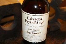 Calvados / Chauffe Coeur, Roger Groult, apple brandy, French