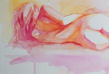 Nude studies in art