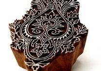 Ornament Textile Print