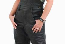 Women's Leather Pants & Shorts