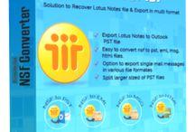 Lotus Notes Converter Software / Lotus Notes Converter Software easily convert NSF file into PST, EML, MSG, HTML, MHTML, RTF, TXT, DOC, PDF etc.