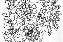 18th century textiles/patterns/and other