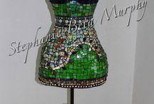 manequim mosaico