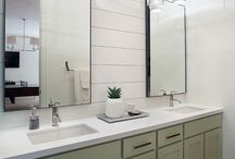 Bathing Space / Ideas for updating our bathroom / by C.C. Jones