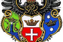 vapen sköldar/ heraldik