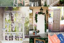 Escort cards/seating placement