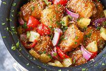 Pineapple Chicken Crockpot