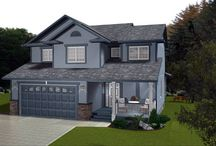 Western Canadian Home Plans / Popular in Alberta and Saskatchewan but common across all of western Canada.