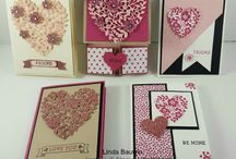DYI Valentine Crafts / Make your own Valentine Decorations, Cards and crafts. / by Linda Bauwin - CARD-iologist