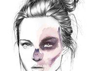 artist studies: people&colour