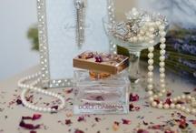 Ivory, Cream & Pearls / Ivory, Cream and Pearl wedding ideas including bespoke wedding stationery