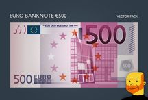 Eurobank notes collection by Paulo Buchnho
