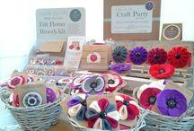 Crochet display / sale ideas