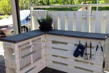 veranda/hage