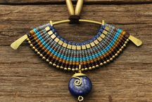Macrame lupis necklace