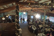 Party in the Barn / Cielo Blu Barn has a 4,000 square foot covered party area!