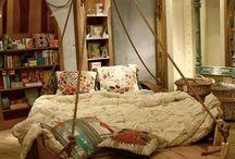 Fun bedroom