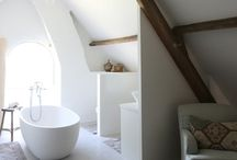 Project: Attic Loft Conversion. Ideas for tiles, bathrooms and interior design. / Inspiration for your attic/loft conversion projects. Bathroom, kitchen, tile, interior design ideas. Visit us at ROCCIA to assist you in creating your dream room. www.roccia.com