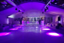 Ultra Modern Wedding Marquees / Modern wedding marquee styling