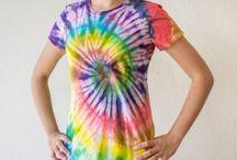 Camisetas Tie Dye / Catálogo de camisetas hechas a mano, pintadas con la técnica Tie Dye, de venta en Etsy https://www.etsy.com/mx/shop/SOANstore?ref=hdr_shop_menu
