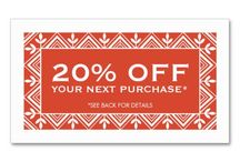 Coupon Cards/Discount Cards / Customizable Business Coupons and Discount Cards