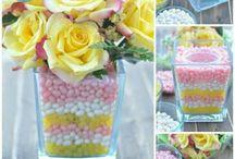 dulces y decó fiestas / Todo tipo de ambientaciones y decorativas para fiestas y celebraciones