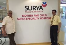 Second Visit Of Mr. Om Puri / At Surya Mother And Child Care Hospital Pune. ‪#‎suryachildcare‬ ‪#‎Motherandchildsuperspecialityhospital‬