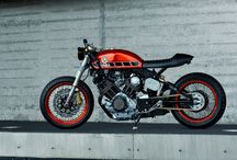 Cafe Racer Stuffs / Racing is living, everything else is just waiting..