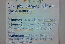 Language Arts: Summarizing / This book contains pins about writing summaries.