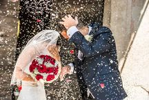 Matrimonio tema rosso
