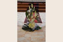 Les fleurs ( bouquets arrangements)