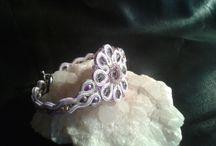 Soutache jewellery-Bracelets / Benedikti Brigitta Hungarian soutache jewellery-Bracelets Sujtás ékszerek Gyöngyhímzett ékszerek
