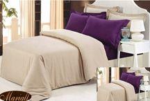 Jednoduché a elegantné obliečky / Nádherné obliečky na posteľ