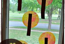 Stuff for Windows! / Window decorations made by kids - suncatchers and other crafts for kids to make. / by Jamie Reimer