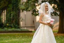 Svatební šaty Linie