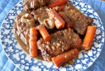 Crock Pot Round Steak and Gravy
